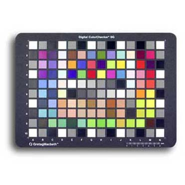 CARTA X-RITE COLORCHECKER SG