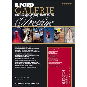 PAPEL ILFORD A3+ 25H GALERIE PRESTIGE SMOOTH PEARL 310GR ILFORD