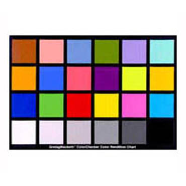 CARTA X-RITE COLORCHECKER CLASSIC (24 COLORES 29X20.5 CM)