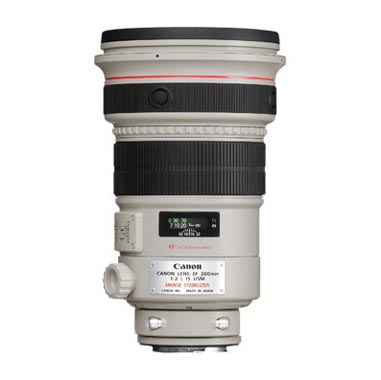 OBJETIVO CANON EF 200/2 L IS USM