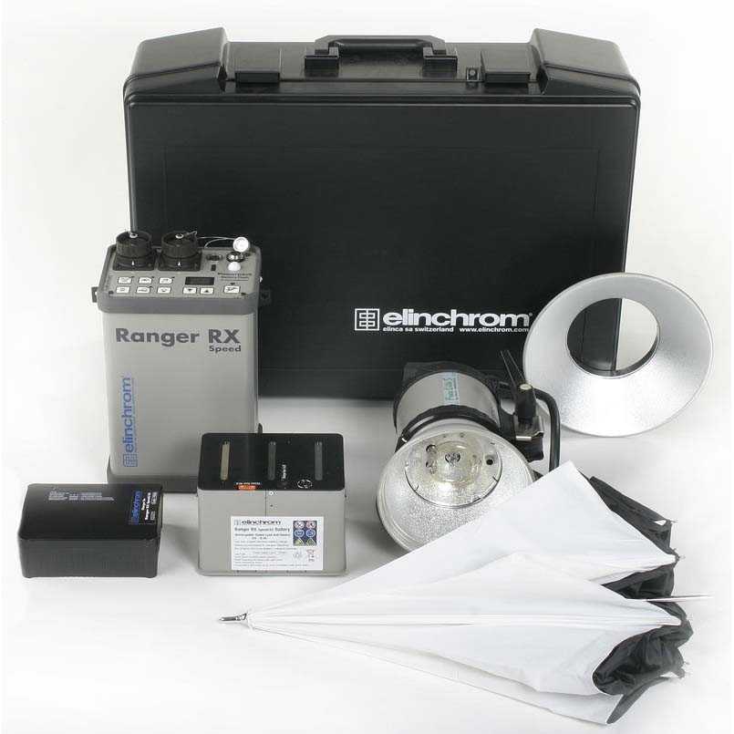 KIT ELINCHROM RANGER RX SPEED + ANTORCHA A