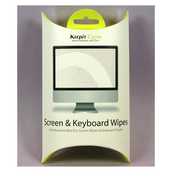 KIT KEEPIT CLEAN PANTALLA + TECLADO + ESCOBILLA (12 UNID)