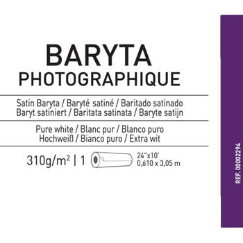 PAPEL CANSON BARYTA PHOTOGRAPHIQUE 24X3 MTS 310 GR CANSON