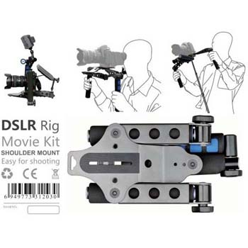 ESTABILIZADOR DSLR RIG MOVIE RL-01