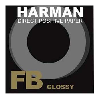 PAPEL HARMAN DIRECT POSITIVE FB 1K 4X5 25 H