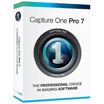 SOFTWARE PHASE ONE CAPTURE ONE PRO 7