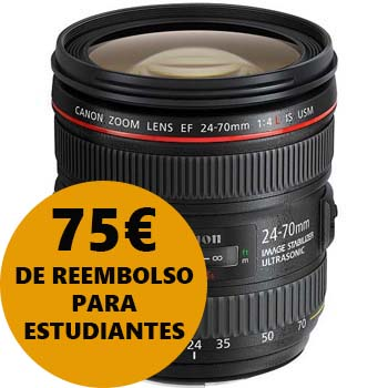OBJETIVO CANON EF 24-70/4 L IS USM