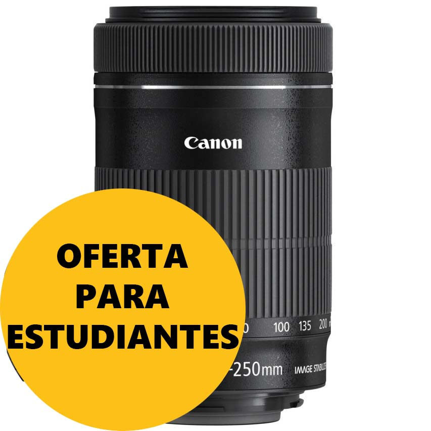 OBJETIVO CANON EFS 55-250/4-5.6 IS STM
