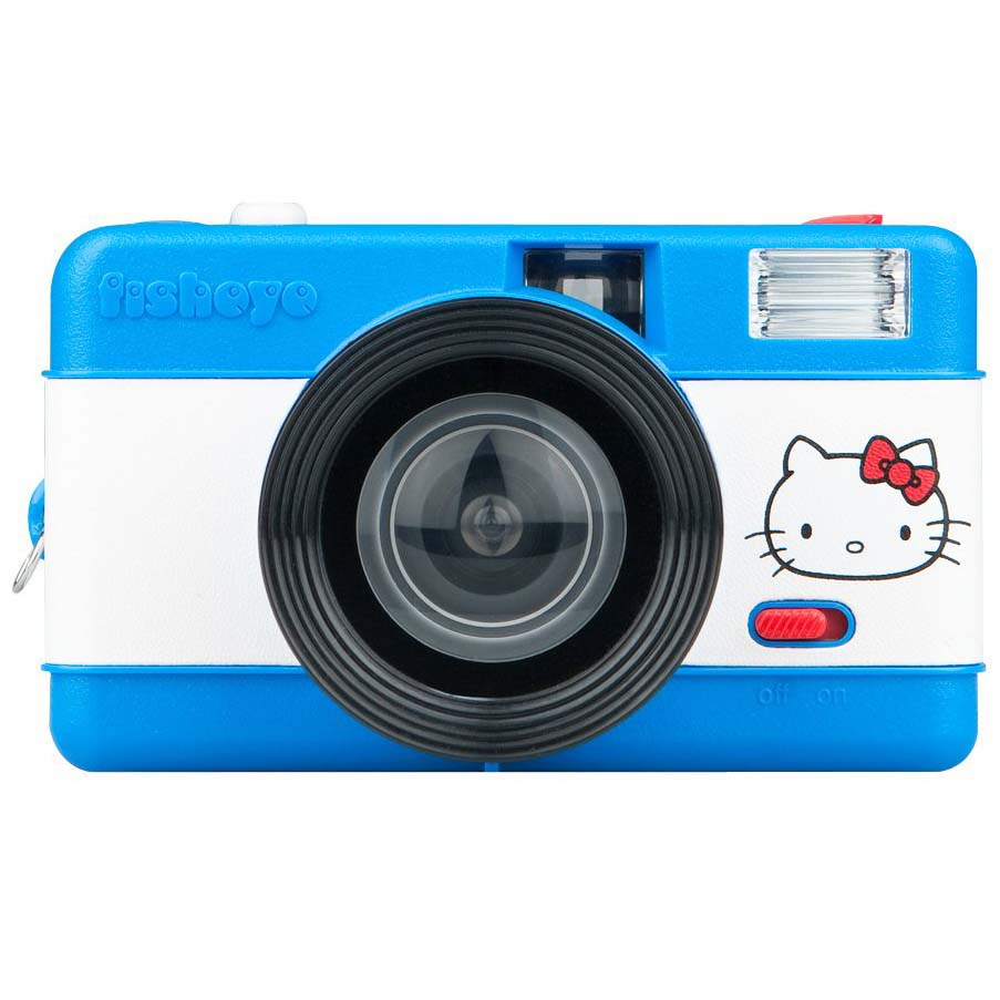 CAMARA LOMOGRAPHY FISHEYE CAMERA PACK HELLOW KITTY