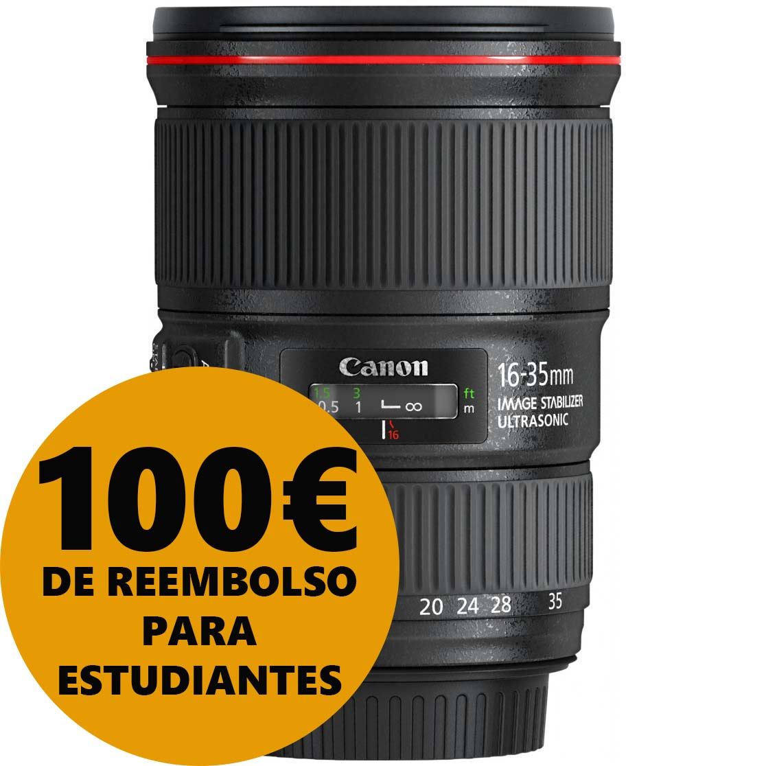 OBJETIVO CANON EF 16-35/4 L IS USM