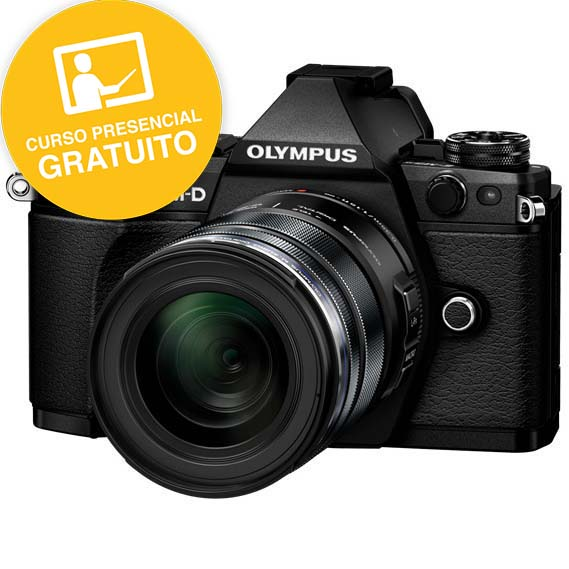 KIT OLYMPUS OM-D EM-5 MARK II BLACK + 12-50 BLACK