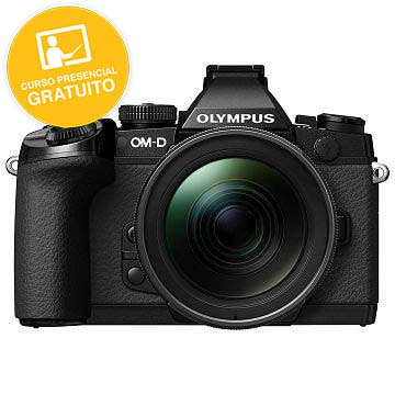 KIT OLYMPUS OM-D EM-5 MARK II BLACK + 12-40 BLACK