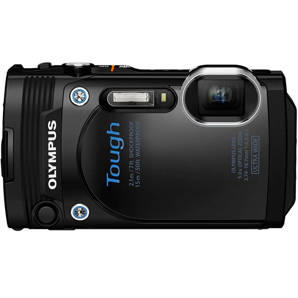 CAMARA OLYMPUS TOUGH TG860 BLACK