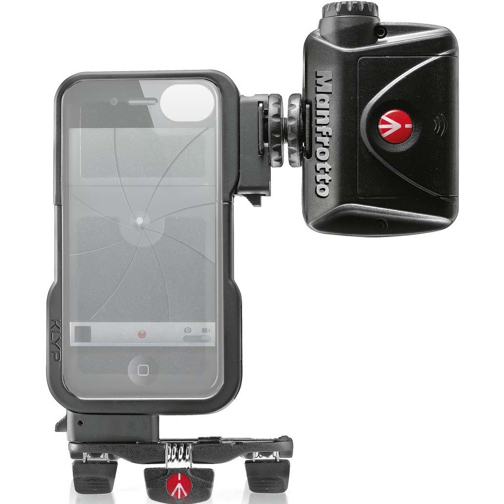MANFROTTO KLYP P/IPHONE 4/4S (SOPORTE + 24 LED + TRIPODE)