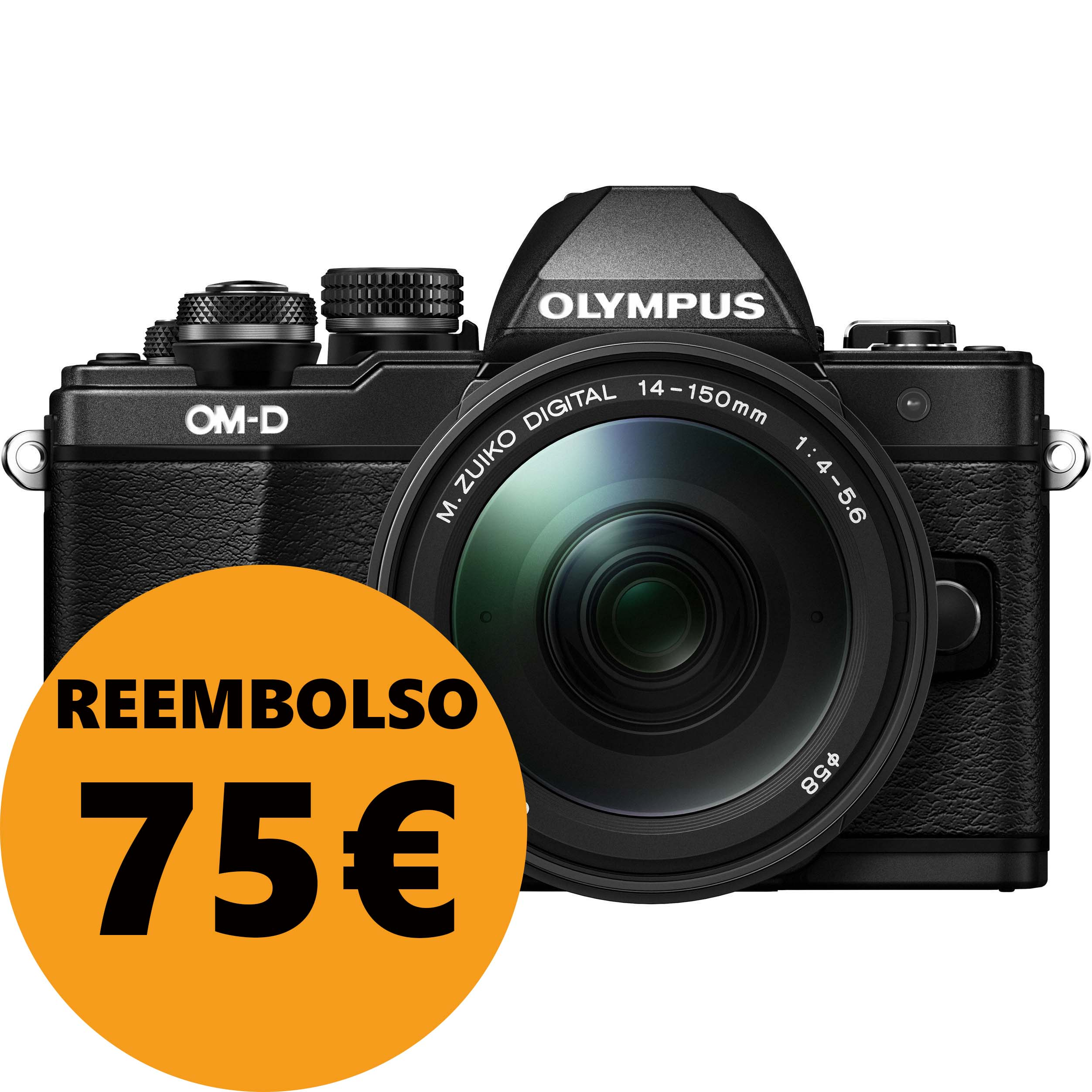 KIT OLYMPUS OM-D EM-10 MARK II + 14-150 II BLACK/BLACK