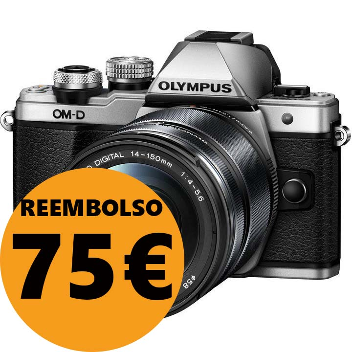 KIT OLYMPUS OM-D EM-10 MARK II + 14-150 II SILVER/BLACK