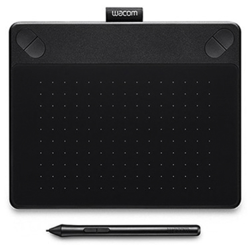 TABLETA WACOM INTUOS PHOTO BLACK PEN&TOUCH SMALL CTH-490PK-S