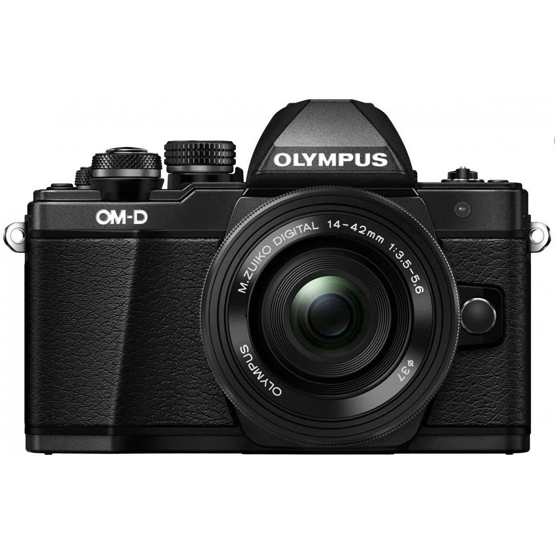KIT OLYMPUS OM-D EM-10 MARK II + 14-42 II R BLACK/BLACK