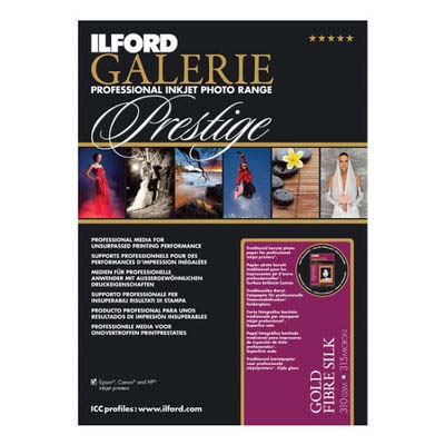 PAPEL ILFORD A4 25H GALERIE PRESTIGE GOLD 310 GR