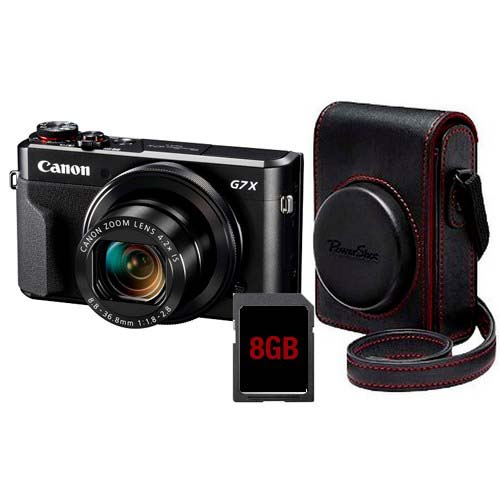 CAMARA CANON POWERSHOT G7X MARK II PREMIUM KIT