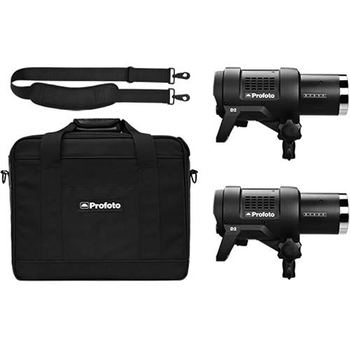 KIT PROFOTO D2 1000/1000 DUO AirTTL