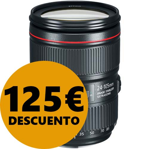 OBJETIVO CANON EF 24-105/4 L IS II USM CANON