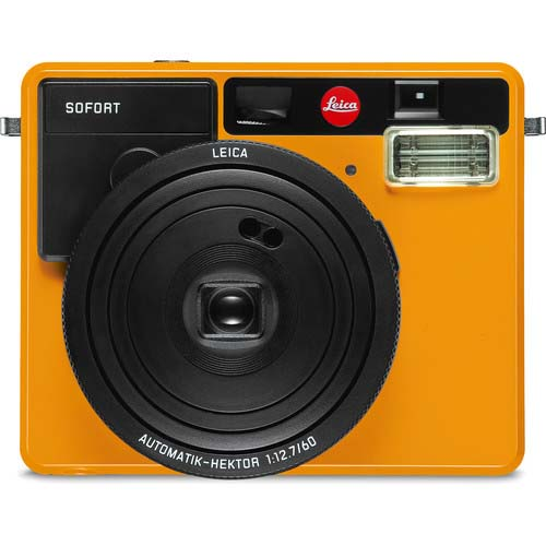 CAMARA LEICA SOFORT ORANGE INSTANTANEA