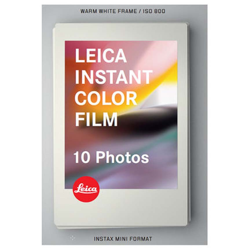 PELICULA LEICA SOFORT COLOR 10 Photos (ISO 800) INSTANTANEA