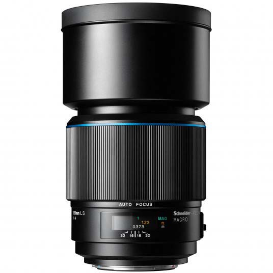OBJETIVO PHASE ONE XF 120/4 LS MACRO BLUE RING
