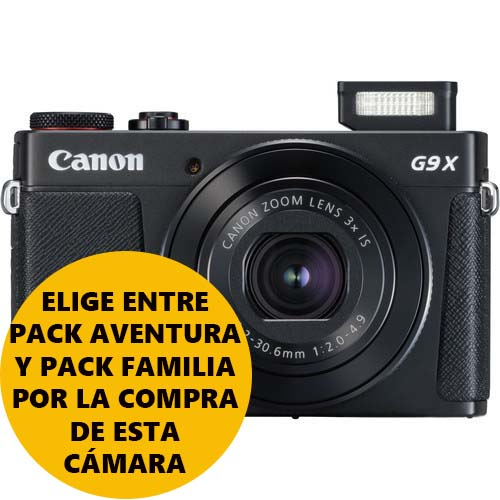 CAMARA CANON POWERSHOT G9X MARK II BLACK