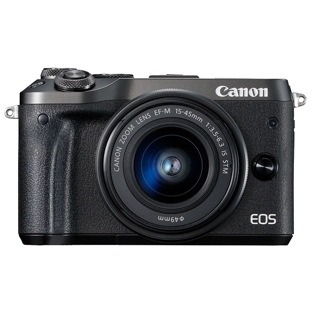 KIT CANON EOS M6 + EFM 15-45 IS STM (BLACK)