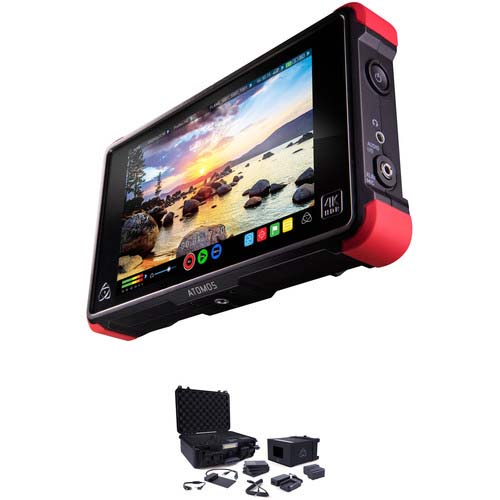 ATOMOS NINJA FLAME TRAVEL CASE + KIT ACCESORIOS COMPLETO
