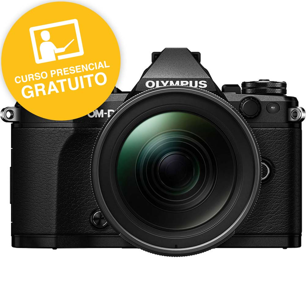 KIT OLYMPUS OM-D EM-5 MARK II BLACK + 12-100 IS PRO BLACK