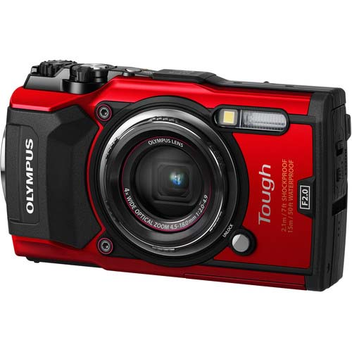 CAMARA OLYMPUS TOUGH TG5 RED
