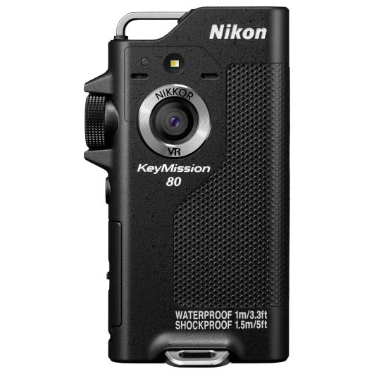 CAMARA NIKON KEYMISSION 80 BLACK