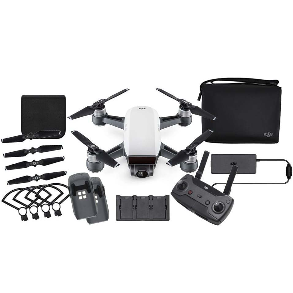 DRON DJI SPARK FLY MORE COMBO BLANCO
