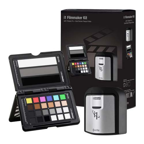 X-RITE i1FILMMAKER KIT (i1DISPLAY PRO + PASSPORT VIDEO)