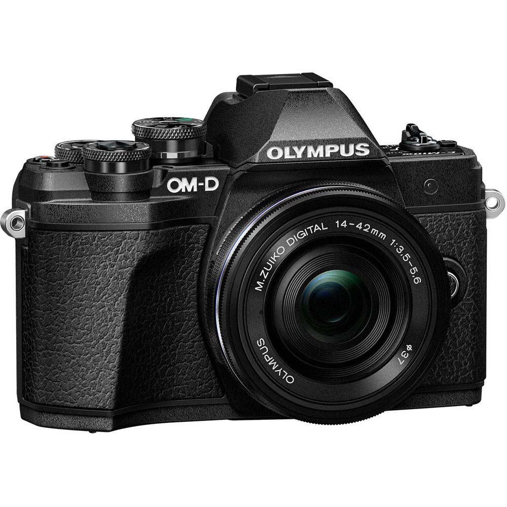 KIT OLYMPUS OM-D E-M10 MARK III + 14-42 II R BLACK/BLACK