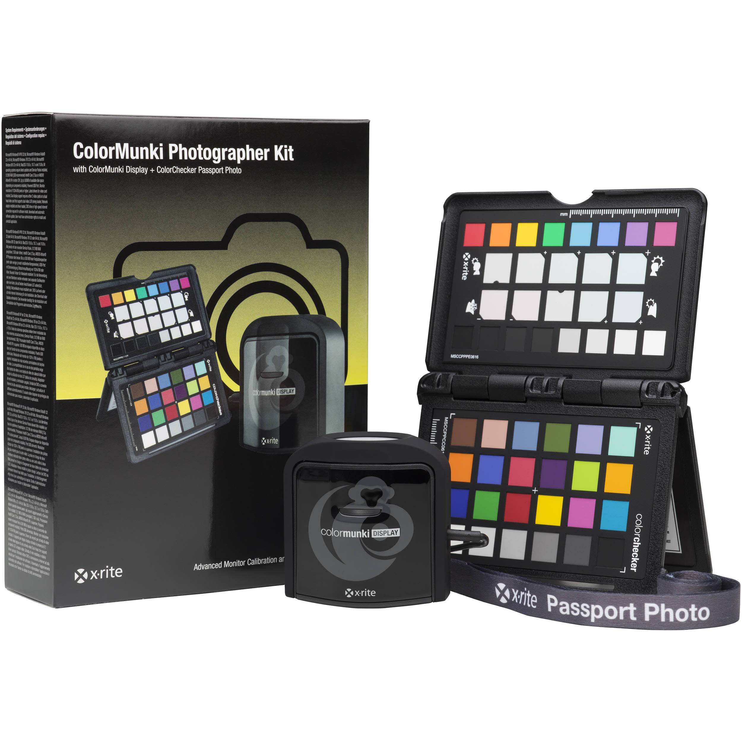 CALIBRADOR X-RITE COLORMUNKI PHOTOGRAPHER KIT