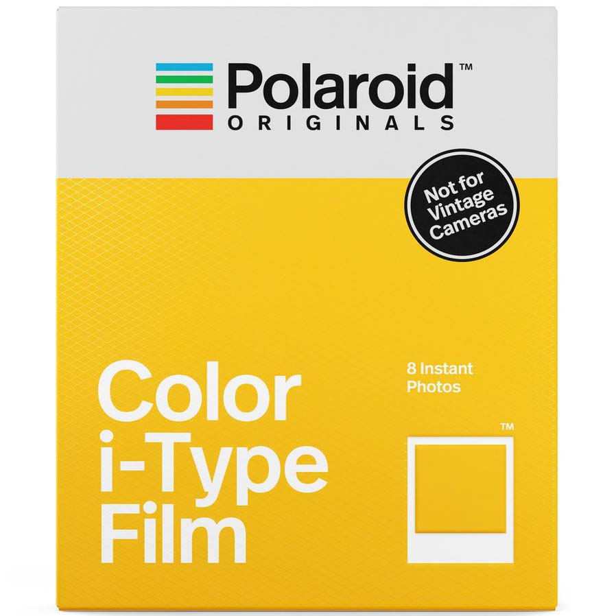 PELICULA POLAROID i-TYPE COLOR (8 FOTOS)