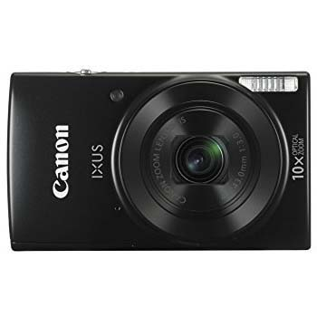 CAMARA CANON IXUS 190 ESSENTIALS KIT (BLACK)