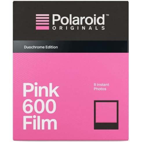 PELICULA POLAROID 600 DUOCHROME EDITION (BLACK&PINK)