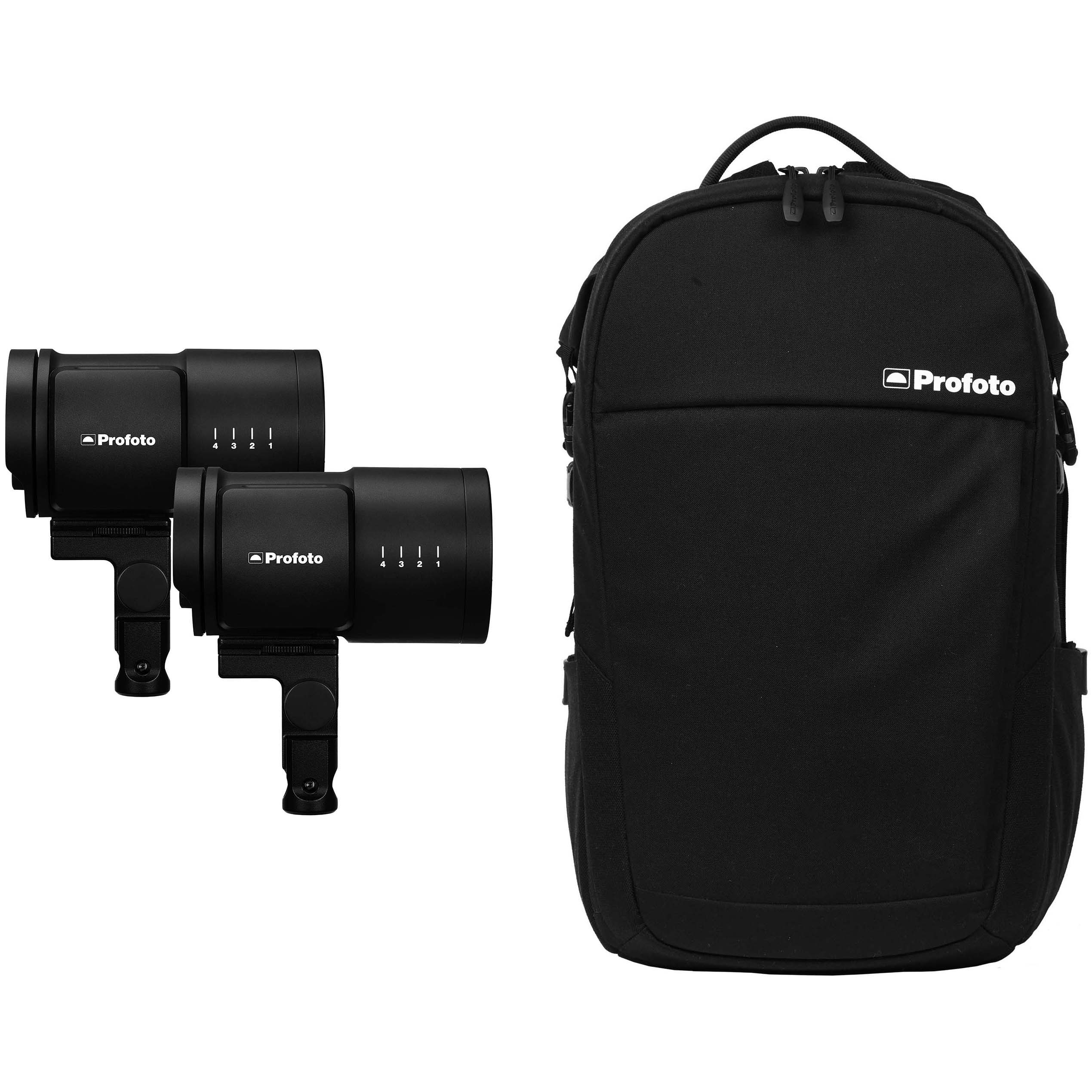 FLASH PROFOTO B10 DUO CON MOCHILA CORE BACKPACK S