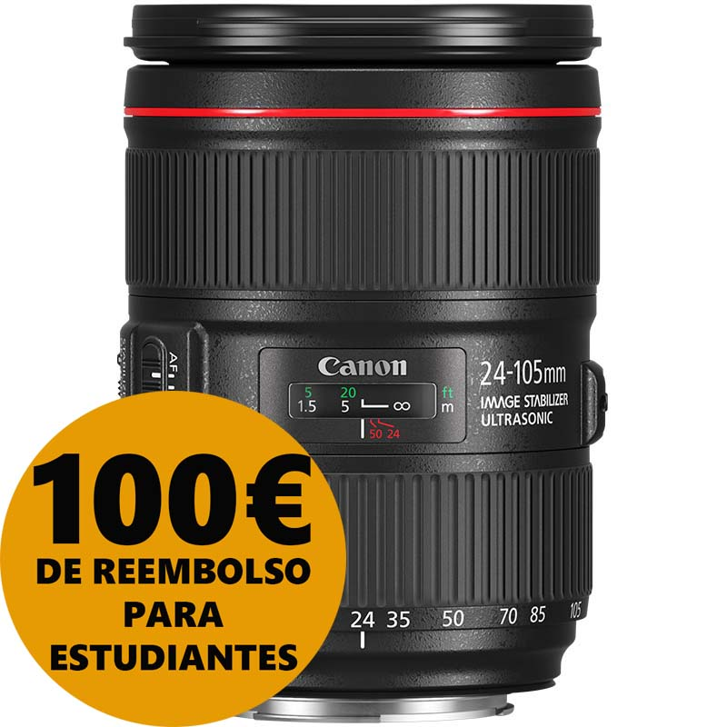 OBJETIVO CANON RF 24-105/4 L IS USM CANON