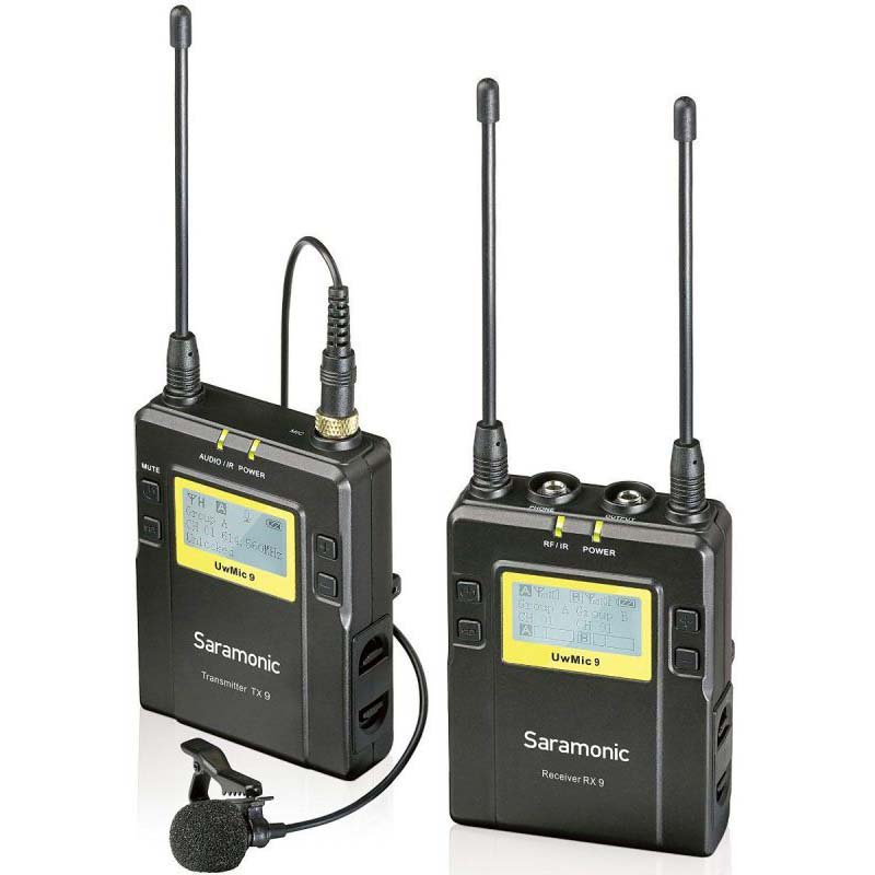 MICROFONO SARAMONIC UWMIC9 (TX9 + RX9) (UHF WIRELESS)
