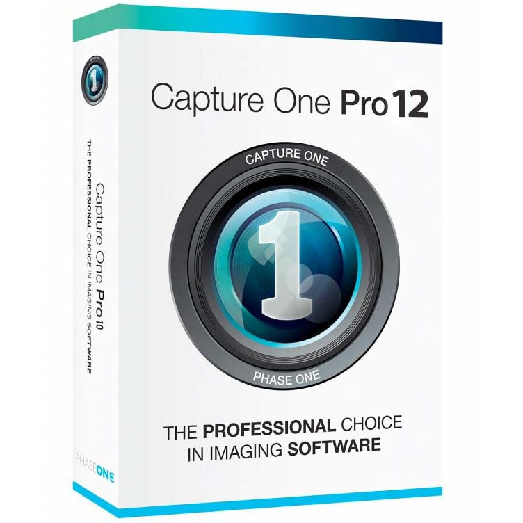 SOFTWARE CAPTURE ONE PRO 12