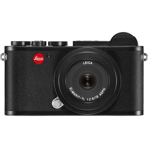 KIT LEICA CL C/ELMARIT TL 18/2.8 BLACK ANODIZED
