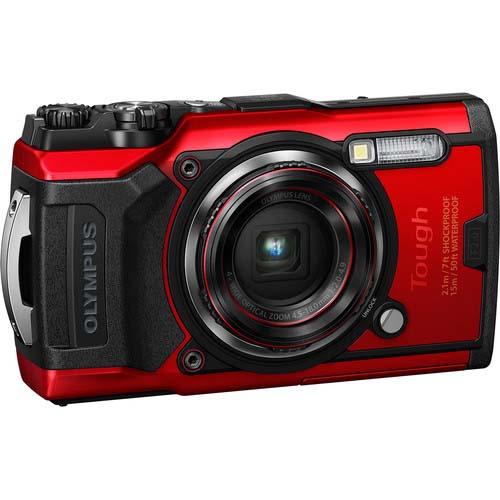 CAMARA OLYMPUS TOUGH TG6 RED