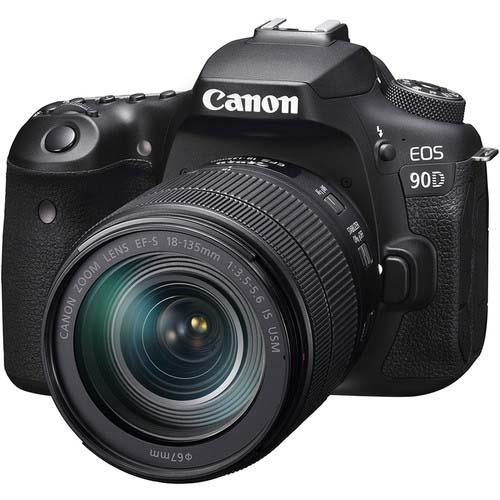 KIT CANON EOS 90D + 18-135 IS USM