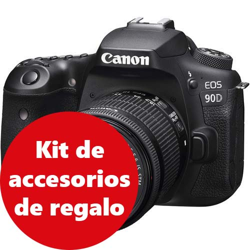 KIT CANON EOS 90D + 18-55 IS STM CANON